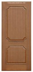 Mittler-Ton Bauholz-Furnier-Blatt mit freies Beschichtung-hölzernes Tür-einzelnes UVblatt-Innentür