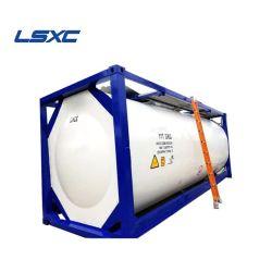 공장 가격 SS316 20피트 21 - 26cbm CIMC T3 T4 T11 T14 ASME Standard ISO Liquid Food Transportation Tank Container
