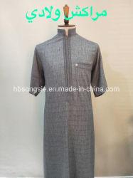 2021 جديد العبايا ماكسي اللباس الإسلامي الملابس العربية الرجال فستان طويل