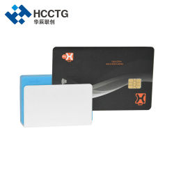 Contact NFC IC 3 en 1 magnétique EMV Mpos Mobile Bluetooth Smart Card Reader (MPR110)