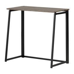 접이식 테이블 컴퓨터 데스크 스터디 테이블 측면 벽 테이블 금속 거실 가구를 위한 프레임