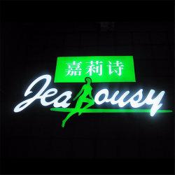 Piscina impermeável de publicidade comercial Display LED Signages Plástico Resina cartas