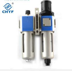 Composants pneumatiques Air Source F. R. L Combinaison200-06 du filtre à air Source GC GC300-15