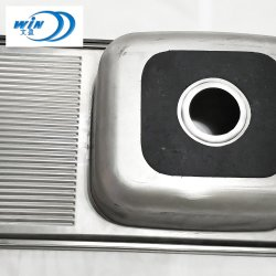 Длинный блок радиатора процессора с Drainboard одного кухня