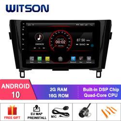 """Grand écran 10,2"""" Witson Android 10 DVD de voiture pour Nissan Qashqai/X-Trail (basse) 2014-2016"""