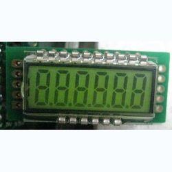 شاشة LED بحجم 2.3 بوصة 7 مقاطع للحاسبة