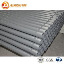 Mayorista de fábrica de 20mm 25mm 32mm color gris baratos conductos eléctricos Tubo de PVC