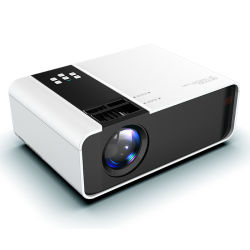 HD 1080p, soporte de proyector portátil LCD 1280*720 de resolución de 150 pulgadas de pantalla proyector Conexión de teléfono inalámbrico