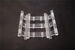 Crogiolo piacevole di quarzo trasparente di apparenza per il semiconduttore usato