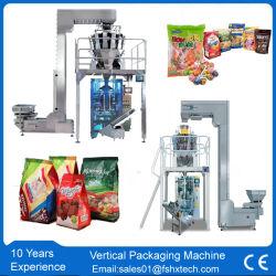 Machine de conditionnement multifonction automatique pour les haricots de feuilles de thé/café/Ecrous/arachides/Chips de pommes de terre/bonbon/collations/riz/nourriture pochette d'emballage d'étanchéité