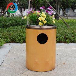 屋内家具のための木製の鋼鉄合成のごみ箱のゴミ箱