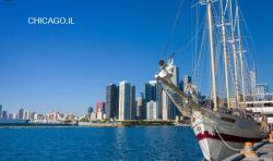 Ocear fret de la Chine à Chicago, Il l'expédition transitaire