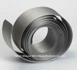 Fios de aço inoxidável com microorifícios em malha de correia para extrusão de plásticos