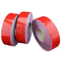 Fitas reflexivas visíveis elevadas alaranjadas da segurança de Pet/PVC