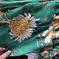 Seda Tecido Opal, queima de seda, em tecido de seda tecido Burnout acetinado