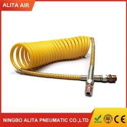 螺線形PUのコイル状の空気圧縮機のホースアセンブリ