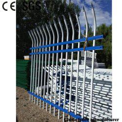 Garten-/Fabrik-Antiaufstiegs-schützende Sicherheits-heißer eingetauchter galvanisierter Stahl gerollter Pfosten-Zaun