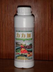 """""""Biopoder"""" orgánicos Fertlizer algas líquidas, té de frutas pulverización foliar fertilizantes orgánicos, compuesto NPK de fertilizante soluble en agua"""