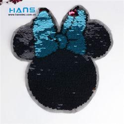ハンズの中国製かなりハンドメイドのスパンコールの花