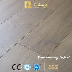 Hohe Definition importierte Papier-HDF lamellenförmig angeordnetes Vinylhölzernes Parkett-Holz lamellierten Bodenbelag