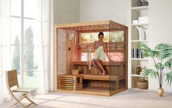 Monalisa M-6048 3 Pessoa Home Jade Pedra Sauna