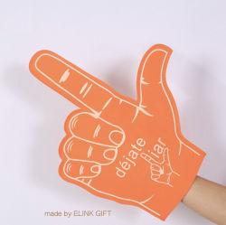 De Bevordering die van het Ontwerp van de douane de Zachte Vingers van de Handschoenen van het Schuim van EVA toejuichen