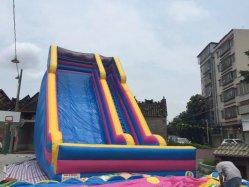 Kids Fun gonflable Diapositive sec double sec patinage Diapositive Diapositive gonflable à deux voies