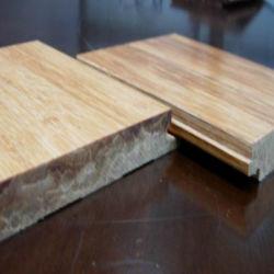 Nouveau style de plancher en bambou Strand tissé