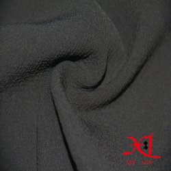 Starker schwarzer Jacquardwebstuhl-Silk Chiffon- Gewebe für Kleid
