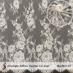 Robe de mariée Tissu Tissu Tulle Suisse français de la dentelle Dentelle de mode (M2137)
