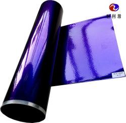 Gold/Glitter-metallisches ganz eigenhändig geschriebes Wärmeübertragung-Vinylaluminiumdrucken und leuchtende farbige Spiegel-Haustier-heiße stempelnde Folie für PS-Rahmen/Verschalung/Möbel