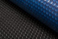 Blaue Luftblasen-im Freien harte Plastikschwimmen-Solarpool-Deckel-Gewebe