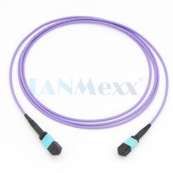Om4 многомодового оптоволоконного Patchcord ГПО MTP 8/12 волокна