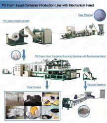 Machine van de Container van het Voedsel van de Hand van de hoge Efficiency de Mechanische