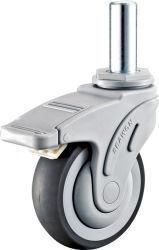 Tige de pivotement de la fourche en nylon solide Medical TPR Roulette