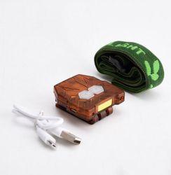 Новый водонепроницаемый движение реакция USB аккумулятор прибора Clip с омывателем фар початков фонарик промысел лампа