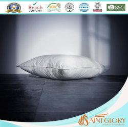 Cuscino poco costoso bianco del poliestere della fibra della cavità del gel del commercio all'ingrosso dell'hotel