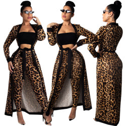 Mulheres calças da discoteca de duas peças de vestuário Definir Suit Maxi vestidos