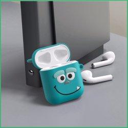 Personalizar Auriculares de alta calidad de silicona Caso Goma Protección de la tapa de PVC auricular inalámbrico Airpods Caso Funda de silicona para auricular