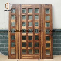 Деревянные двери с грилем дизайн для Северной Америки дом