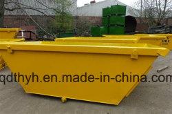 De Zelf Dumpende Bak van uitstekende kwaliteit van de Kraan, de Container van het Afval van de Bouw met velen de Deklaag van de Kleur