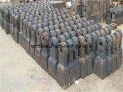 Legierter Stahl-Schmieden-Zwischenlage-Platte für Zerkleinerungsmaschine-/Hammer-Kopf für Zerkleinerungsmaschine