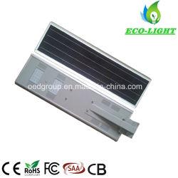 1개의 태양 에너지 25W LED 가로등에서 모두를 저장하는 Energying