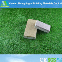 Permeável água colorida de cerâmica de alta qualidade e tijolos de tijolos de Pavimentação