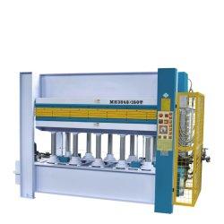 Houtbewerking 160ton hydraulische heetpersmachine voor houten deur