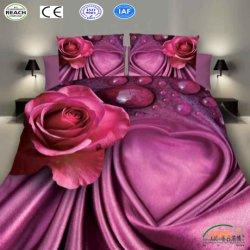 Het hete 3D Beddegoed Vastgestelde naar huis Textiel2PCS/3PCS/4PCS van de Dekking van het Dekbed van de Luxe van de Verkoop