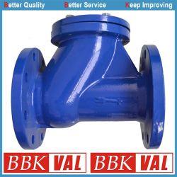 연성이 있는 철 볼첵 밸브 벨브