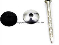 屋根ふきはプラスチック帽子が付いているツイストすねまたはリングのすねが付いている釘をねじで締める