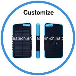 Custom 20000 mAh солнечной Банка питания зарядного устройства