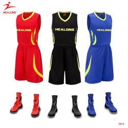 Diseño de la sublimación Start-Sky Healong mayorista uniformes camisas camisetas de baloncesto